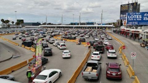 Sin restricciones cruces de San Diego a Tijuana, no son viajes esenciales