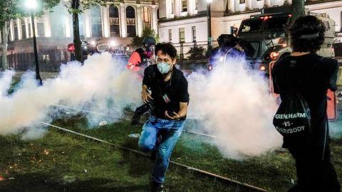 Trump envía agentes federales para contener disturbios en Wisconsin
