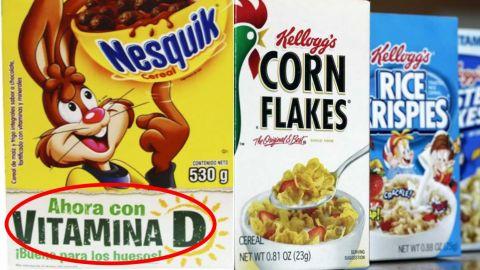 Pretenden prohibir adición de vitaminas y minerales en los alimentos