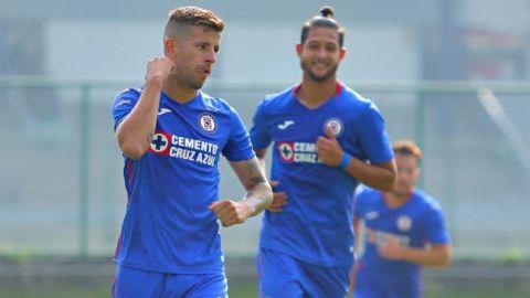 Pablo Ceppelini, marginado del Cruz Azul, anota con la sub-20