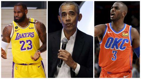 ¿Qué les dijo Barack Obama a las estrellas de la NBA?