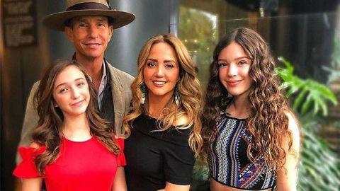 VIDEO: Andrea Legarreta y su familia están sufriendo los estragos del Covid-19