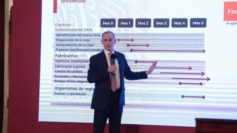 México suma 64 mil 414 muertes por Covid