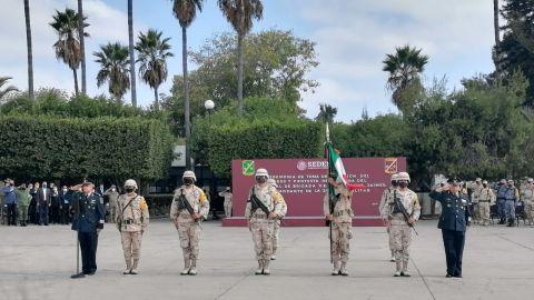 VIDEO: Saúl Luna Jaime, nuevo comandante de la Segunda Zona Militar