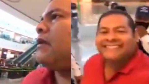 Sujeto se vuelve viral por no usar cubrebocas; dice que AMLO no usa
