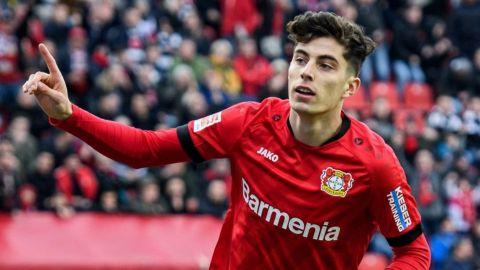 Havertz afina detalles para su pase de Leverkusen al Chelsea