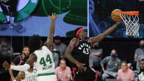Raptors empatan semifinales del Este con Celtics