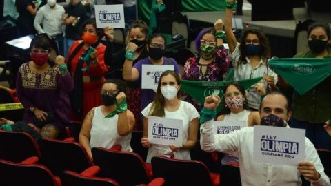 Congreso de Quintana Roo aprueba ''Ley Olimpia''