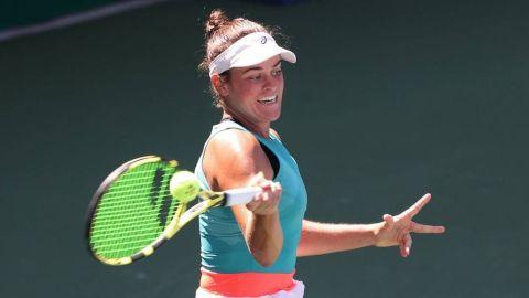 Brady tumba a Kerber y avanza a cuartos en el US Open