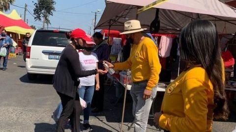 Los protocolos sanitarios en sobre ruedas de Tijuana