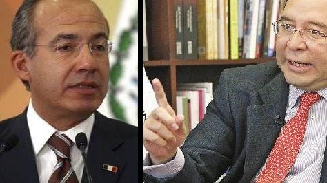 Calderón y Murayama se enganchan sobre donativos a México Libre