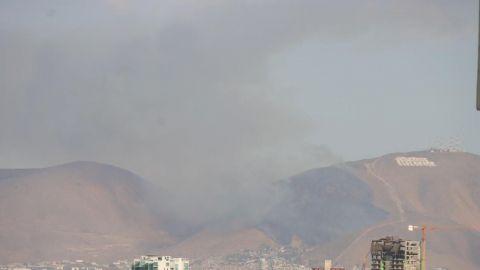 Alertan por caída de ceniza en Tijuana