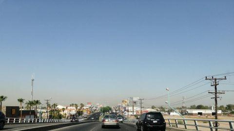Altos de niveles de contaminación en regiones de Mexicali