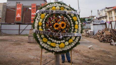 Conmemoran en Oaxaca a víctimas del sismo de 2017