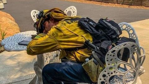 Preocupa vientos Santa Ana por incendios en San Diego