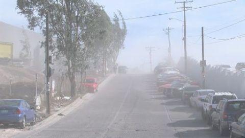 Advierten fuertes vientos de Santa Ana en Tijuana