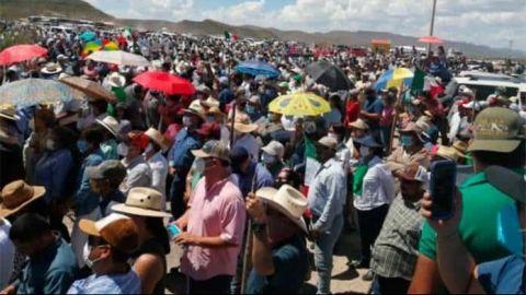 Pide intervención de FGR por toma de La Boquilla en Chihuahua