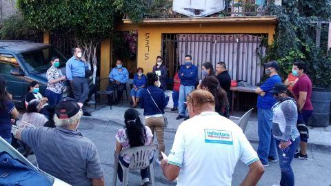 Se reúne Derechos Humanos con afectados de Lomas del Rubí