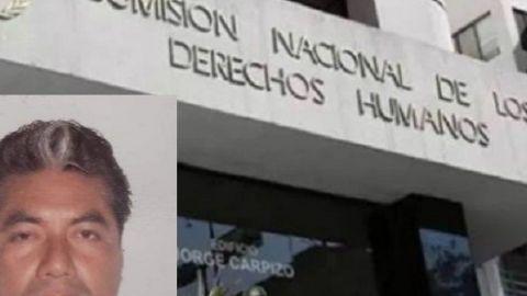 Condena CNDH homicidio del periodista Julio Valdivia