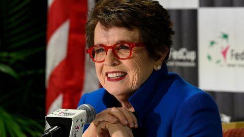 La organización del US Open no acreditó a Billie Jean King por seguridad
