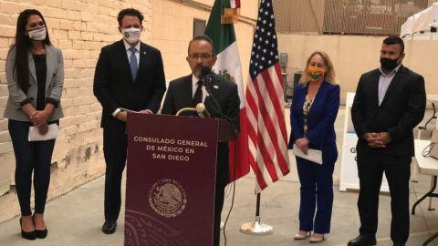 Consulado Mexicano en San Diego ofrece pruebas COVID-19
