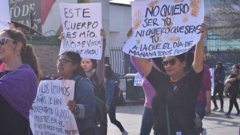 Antigrito Feminista en Tijuana