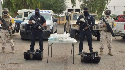 Detiene a ciudadano americano con 35 kilos de droga en el Valle de Mexicali