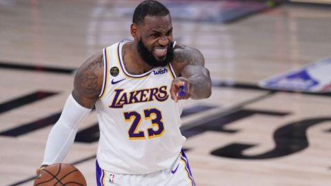 LeBron vuelve a una final de conferencia, ahora con Lakers