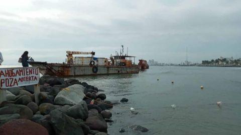 Encallan dos embarcaciones frente a costas de Veracruz