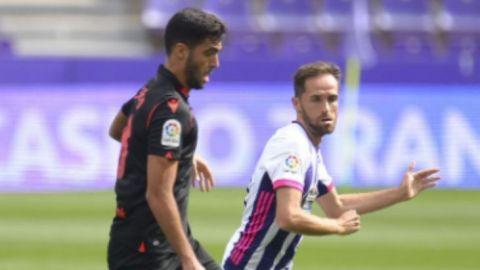Real Valladolid y Real Sociedad se atascan con el empate
