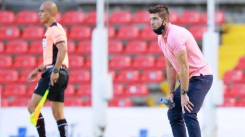 """Alex Diego y la derrota del Querétaro ante León, """"No puedo reclamarle nada a mi"""