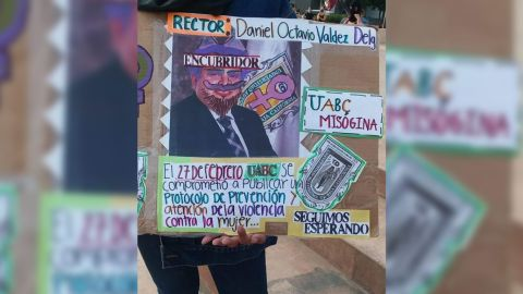 Feministas dan Antigrito en Tijuana
