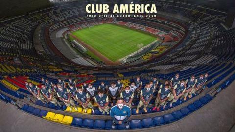 América le rinde homenaje a la afición en su foto oficial