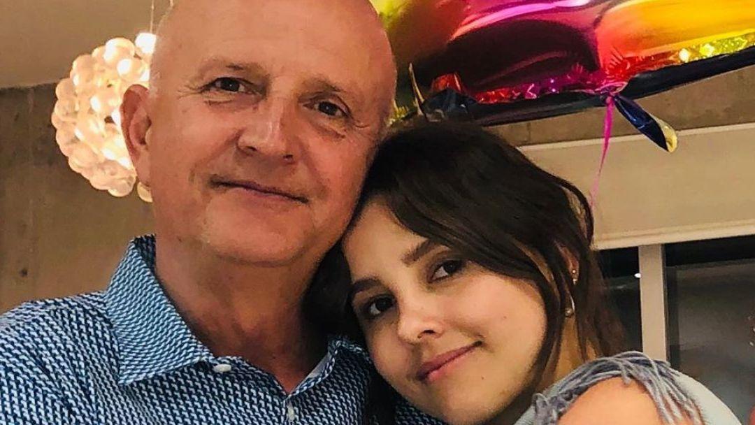 Fallece el padre de Paulina Goto; la actriz lo despide en redes