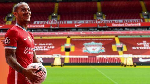 Liverpool hace oficial la llegada de Thiago Alcántara