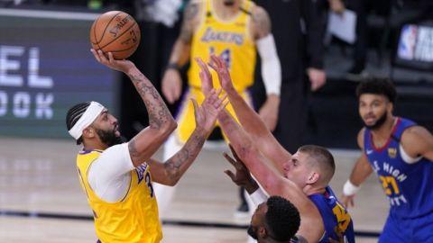 Lakers abren final del Oeste con triunfo sobre Nuggets