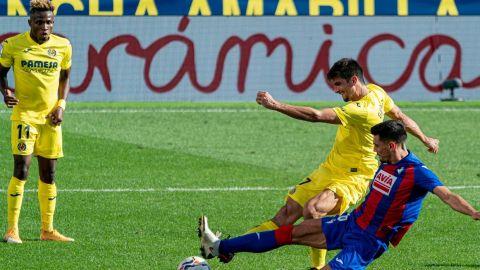 Moreno ayuda a Emery a primer triunfo con Villarreal