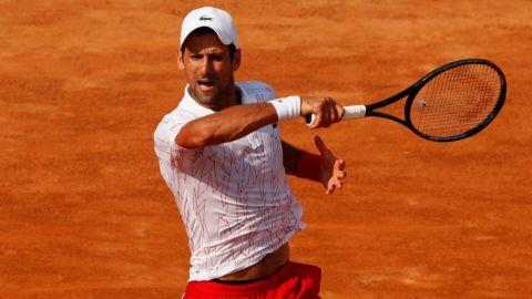 Djokovic vence a Ruud en la semifinal y peleará por su quinta corona en Roma