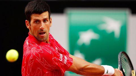 Djokovic fue mejor que Schwartzman y es campeón de Roma