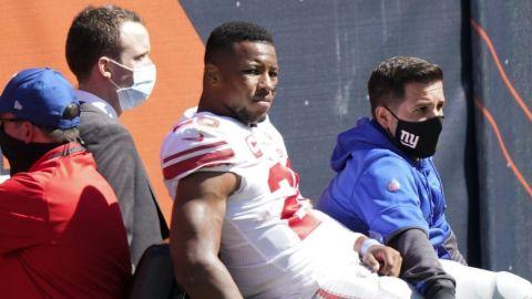 Giants confirman que Saquon Barkley se perderá el resto de la temporada