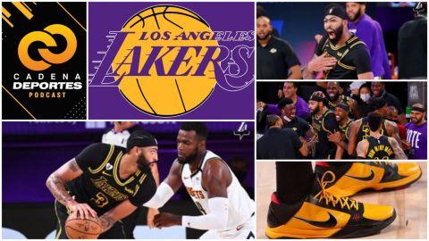 CADENA DEPORTES PODCAST: Anthony Davis y los Lakers, con 'Mamba Mentality'