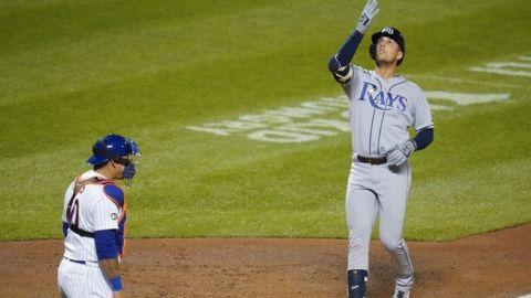 Jonrón de Lowe guía a los Rays sobre deGrom y los Mets