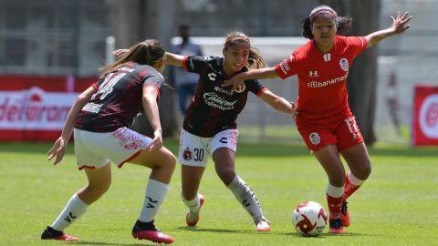 Xolos femenil perdió 1-2 ante Toluca