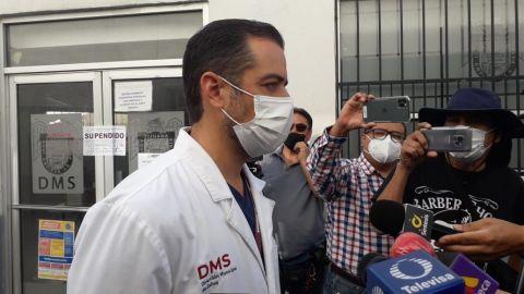 Pacientes con COVID de Tijuana, abandonados por cierre de Servicios Médicos