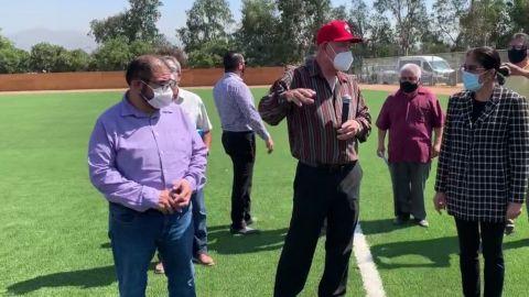Se presentan mejoras a estadios de beisbol en Otay