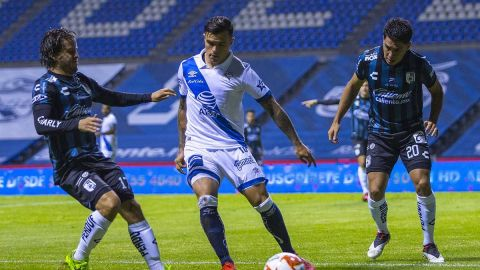 VIDEO: Puebla rescata empate ante Querétaro