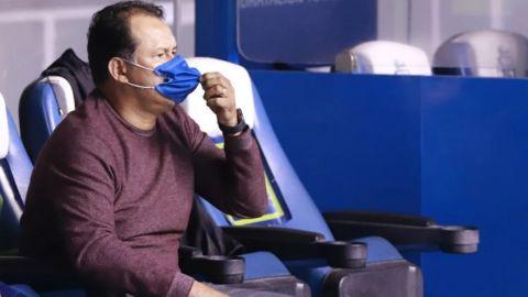 Puebla es un equipo que no baja los brazos: Juan Reynoso