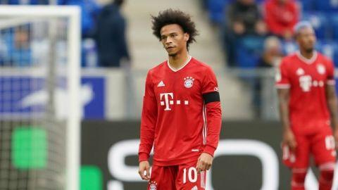 Bayern: Sané, otra vez baja por lesión de rodilla