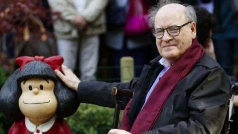 """""""Quino"""", el creador de """"Mafalda"""" y gran crítico del futbol"""