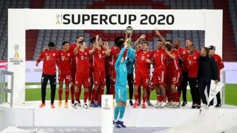El Bayern Múnich gana su octava Supercopa de Alemania